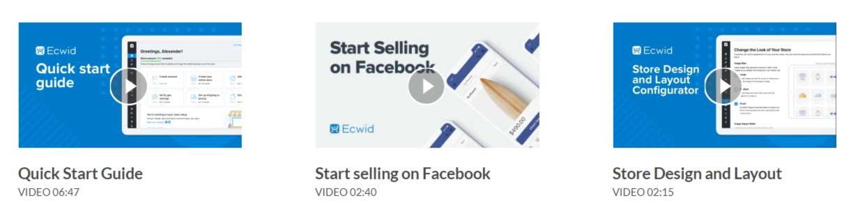 criar loja online ecwid