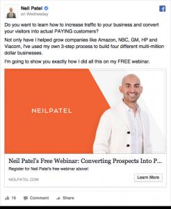 Neil Patel- Marketing de afiliados